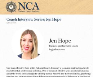 Jen Hope Executive and Leadership Coach